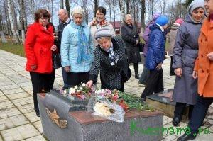Ответный визит пеновских ветеранов