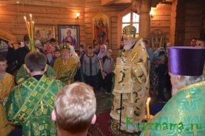 Престольный праздник в честь Амвросия Оптинского