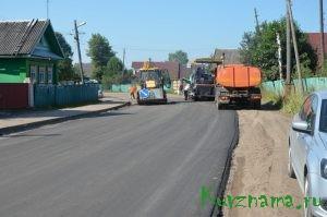 Ремонт на ул. Октябрьской