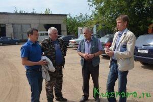 Обсуждение совместной работы с коллективом ООО «КувшиновоАвтодор»
