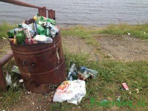 Прекратите мусорить!