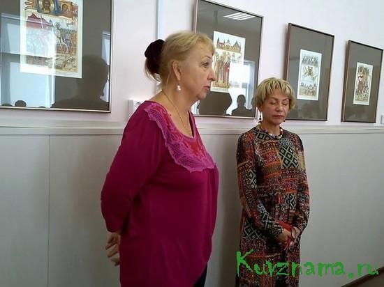 Заслуженный художник России Людмила Юга