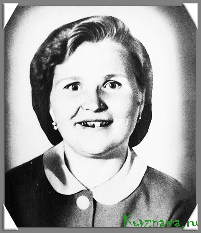 Александра Нилова, ветеран труда, труженица тыла (на фото в молодости)