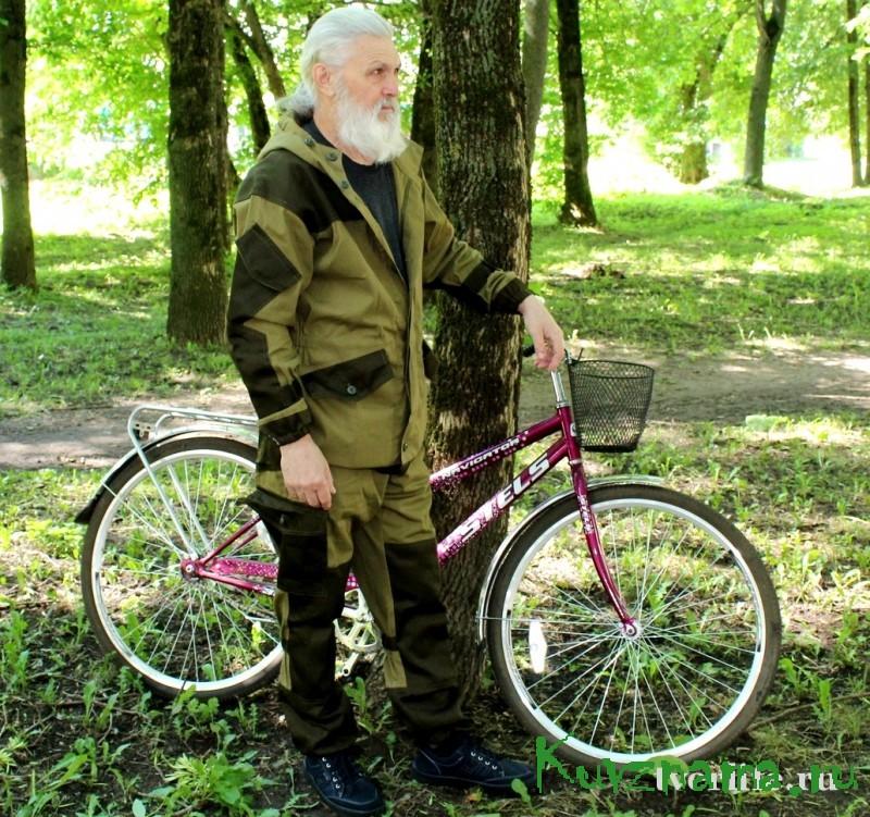 Пенсионер из Тверской области Сергей Сысолятин преодолел маршрут длиной более 4 тыс. км