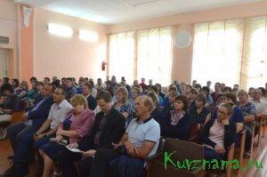 Директор Каменской БКФ встретился с коллективом предприятия
