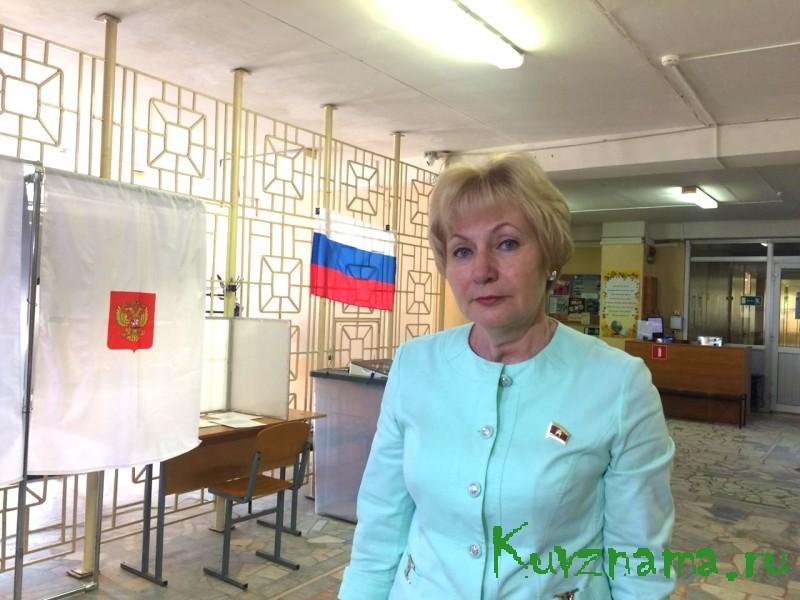 Наталья Павлюк: Люди приходят на избирательные участки с хорошим настроением