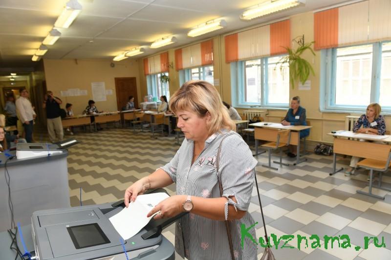 Татьяна Жомова: Выборы проходят на высоком организационном уровне
