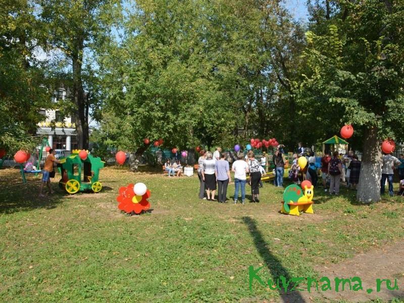 В Твери появилась игровая площадка для детей с ограничениями по здоровью