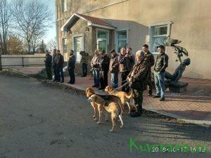 Открылись состязания гончих собак памяти Н. Кишенского