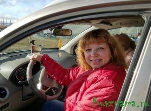 Олеся Старикова, автолюбительница