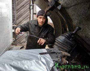Николай Лозован, водитель