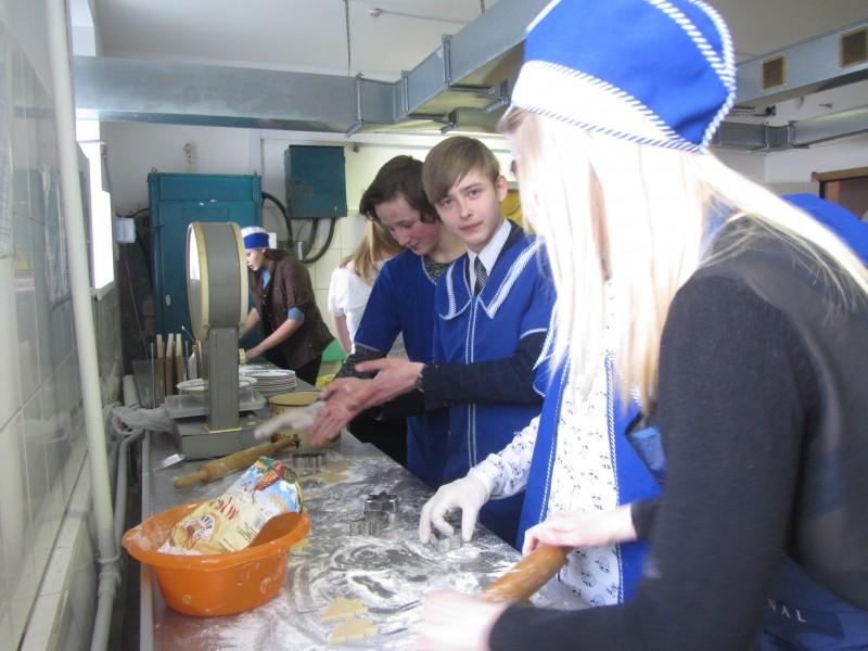 мастер-класс по выпечке печенья