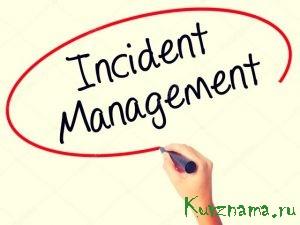 Работа системы «Инцидент-менеджмент»
