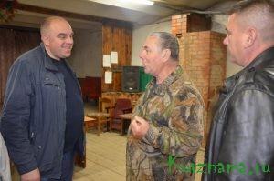 Глава района встретился с жителями с. Тысяцкое