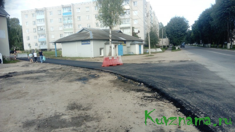 Заасфальтирован домовой проезд №9 по ул. Советской