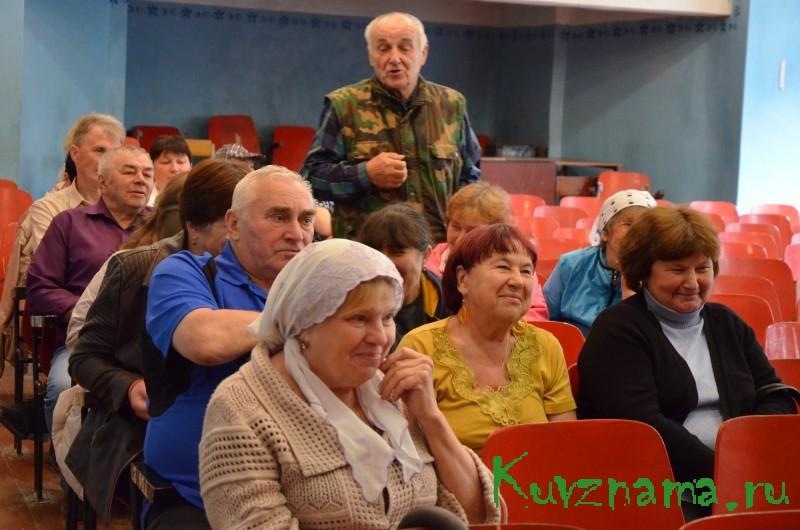 Встреча главы района с жителями Заовражья
