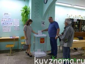 Глава Кувшиновского района И. Б. Аввакумов с супругой