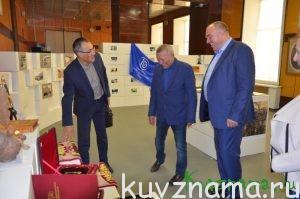 Открытие выставки работ, посвященных 220-летию КБКФ