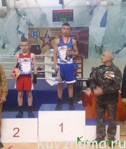 Данила Клестов занял первое место в Открытом турнире по боксу