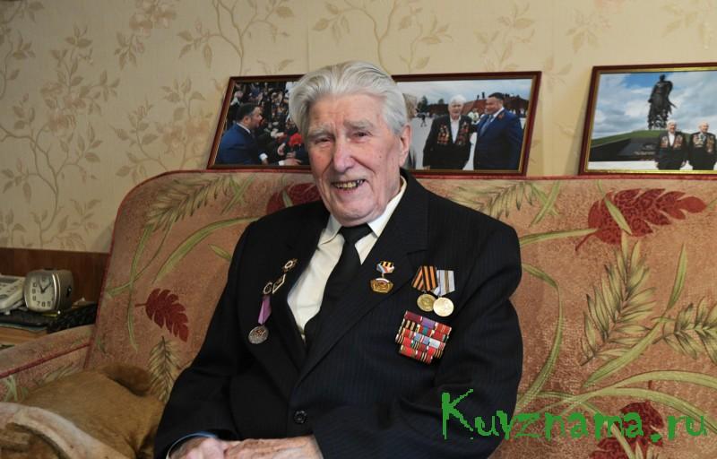 Губернатор Игорь Руденя поздравил с Днем Победы ветеранов Великой Отечественной войны