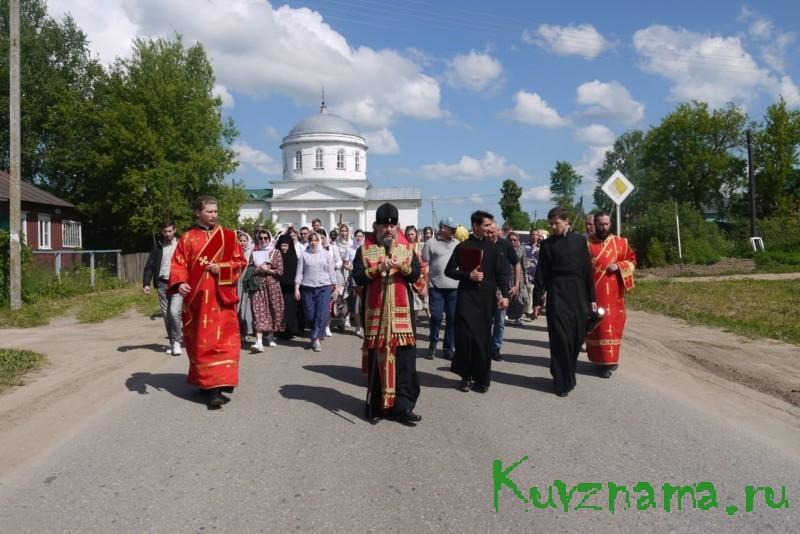 В Тверской области проходит Крестный ход в честь 500-летия обретения мощей святого преподобного Макария Калязинского