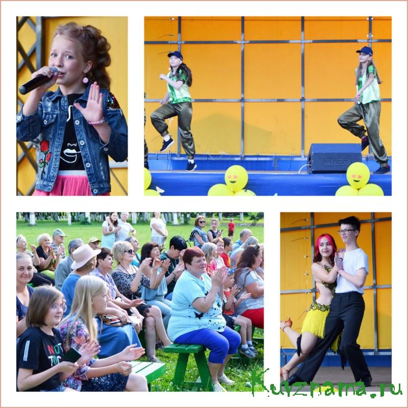 Результаты своего творчества показали вокалисты и танцоры