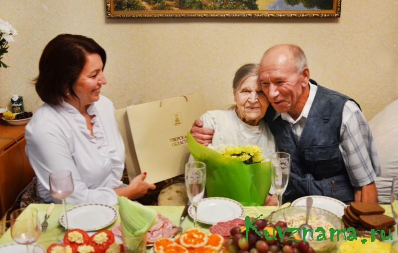 100 лет ветерану Великой Отечественной войны Александре Терещенко