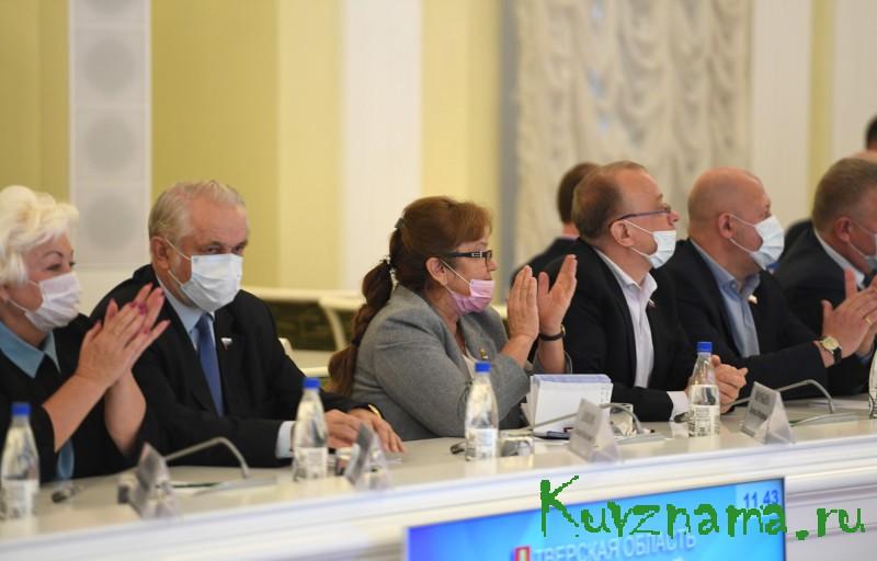 Губернатор Игорь Руденя поблагодарил депутатов шестого созыва Законодательного Собрания Тверской области за совместную пятилетнюю работу