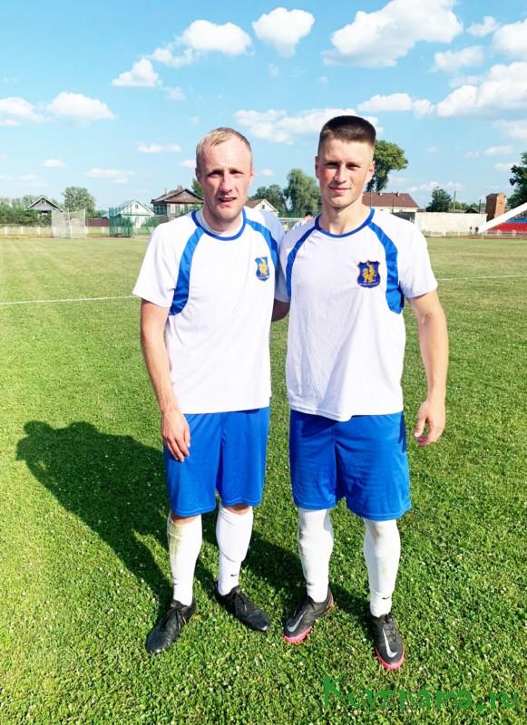 Кувшиновские футболисты защищают честь региона